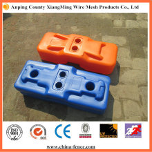 Blow Moulded Temporary Fencing Feet with Conceret