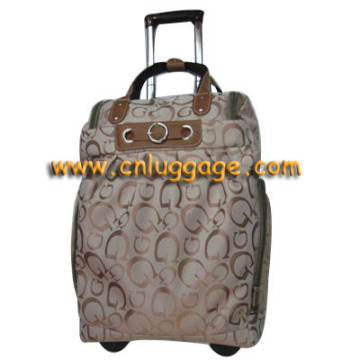 2014 New design long luggage trolley bags