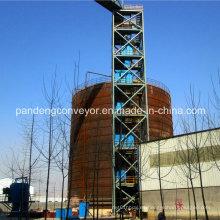 Transportador de elevador de cangilones de ingeniería química