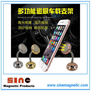 Multifunction Creative 360 Degree Rotating Lazy Magnetic Mobile Phone Holder for Car