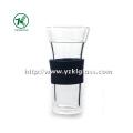 Bouteille en verre double par BV, SGS, (Dia9cm, H: 18cm, 410ml (KL120908-6A)