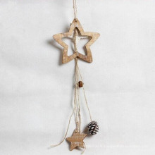 couleur naturelle belle décoration de plafond de pin de pin de Noël