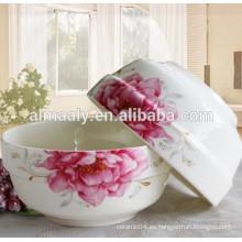 Cuenco de cerámica de la vajilla