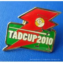 Promotion Emblems Soft Enamel Lapel Pin, Badge personnalisé (GZHY-BADGE-005)