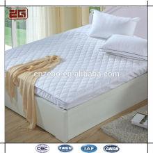 De alta calidad natural lavado 100% de fibra de relleno acolchado protector de colchón impermeable