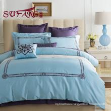 fashion design luxury High Quality Hotel Bedding sets 60s cotton print bedding sets