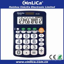 DS-930T calculadora eletrônica de imposto de 12 dígitos com luz LED