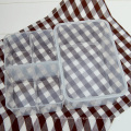 Plastic 4 compartment container insulated-layer lunch box 1200ml
