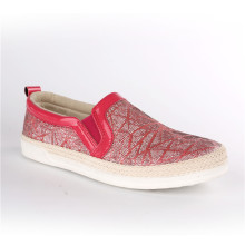 Zapatos de mujer Zapatos de cuerda de cáñamo informal Snc-70005