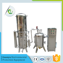 Water distillation  rotary evaporator