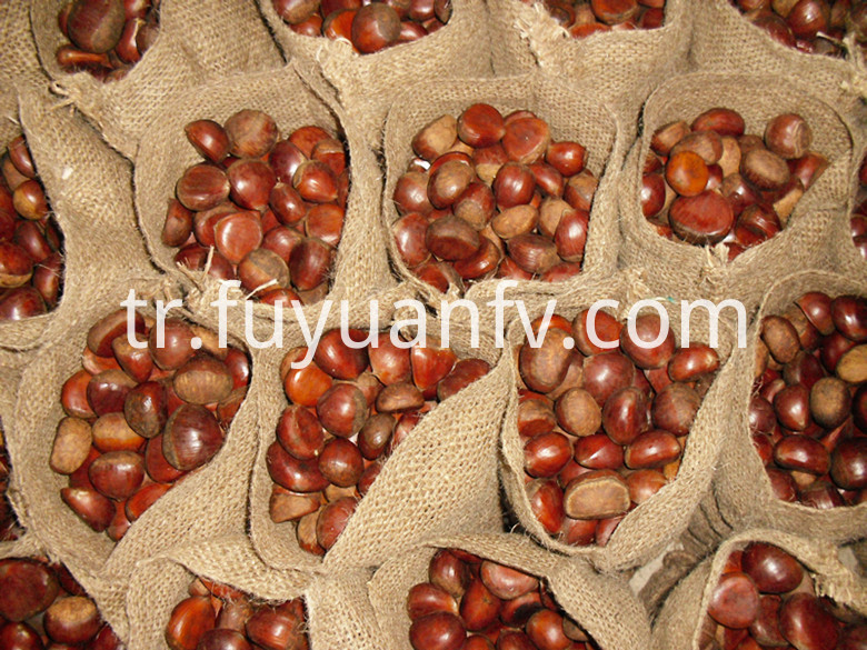 5kg loose jute bag chestnut