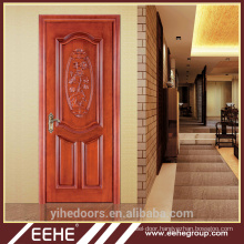 Modern Carved Solid Wooden Door Exterior Fire Door Wood Door
