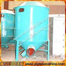 Aspirator in grain cleaning system