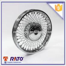 Roue de moto de frein à tambour professionnelle hautement recommandée en Chine pour 70cc