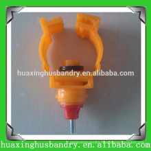 hot selling multi-direction chicken water nipples with ball valve