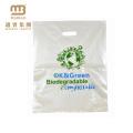 Wholesale Heal Seal Custom Logo Printed Biodegradable Die Cut Handle Ldpe Hdpe PE Shopping Plastic Bag
