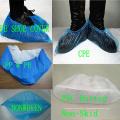 Protection anti-dérapante imperméable non-tissée de couverture environnementale de chaussure Kxt-Sc47