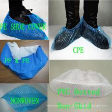 Fabricação antiderrapagem impermeável não tecida Kxt-Sc47 dos PP da tampa ambiental da sapata