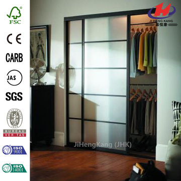 Solid Frosted Glass Cubicle Interior Sliding Door