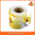Guangzhou manufacturer wholesale custom sticky oil resistant label for food packaging