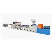ligne de machine de traitement de feuille de PVC