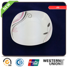 El embalaje de Bulking modifica el cuenco del plato de cerámica promocional para requisitos particulares del plato