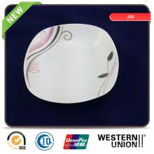 Bulking Embalagem Personalizar Promocional Cerâmica Placa Prato Set Bowl