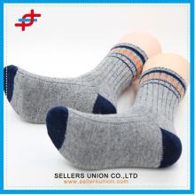 Chaussettes en coton à rayures pour gros
