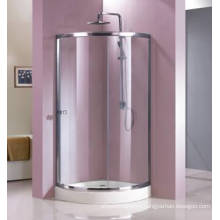 Quadrant Shape Tempered Glass Shower Enclosure with Frame (HR229C)