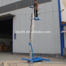 plataforma de trabalho do mastro de alumínio 4m