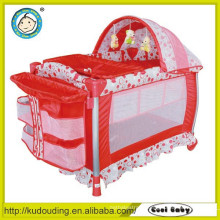 Hot china products wholesale baby playpen with mat