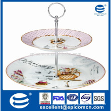 China new products 2pcs cake stand fitting