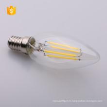 E26 E27 B22 E12 E14 DIMMABLE LED Filament Ampoule Edison Ampoule C35 LED Bougie Lumière 2 W 4 W 6 W 120 V 230 V