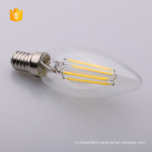 E26 E27 B22 E12 E14 DIMMABLE LED Filament Bulb Edison Bulb C35 LED Candle Light 2W 4W 6W 120V 230V