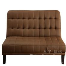 Tela do sofá da matéria têxtil da casa do couro da camurça do poliéster
