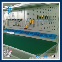 pegboard back tools display stand