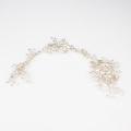 Acessórios para o cabelo de cristal prata de casamento cocar de cabelo de noiva acessórios de cabelo feitos à mão por atacado