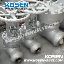 Carbon Steel Butt Welded Globe Valves (J61)