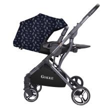 Роскошный дизайн, новые портативные двусторонние детские коляски для путешествий
