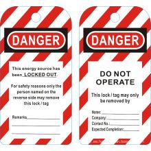 BOSHI BD-P01 Etiquetas de bloqueo de seguridad --No funcione! ¡Peligro!