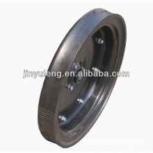 16x2.5 semi solid wheel for seeder narrow limit deep wheel use