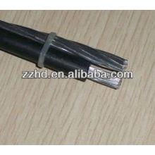 conductor de aluminio LXS xlpe cable trenzado aéreo