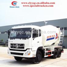 New design! 10CBM transit mixer vehicle 6x4 Mixer truck for sale