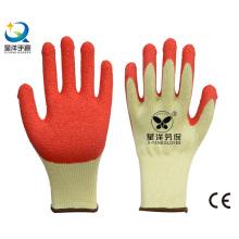 21 Gauge Garn Latex Palm Coated Arbeitshandschuh