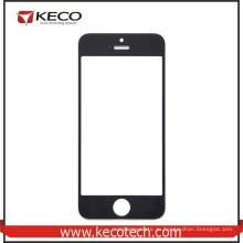 Оптовые продажи для iphone 5 Передний сенсорный экран стеклянный объектив черный