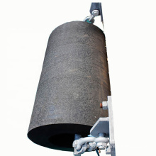 Durable ship berthing hollow cylindrical rubber fender