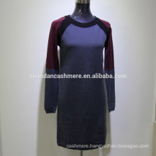 2016 New fashion design winter knitted women cashmere sweater from factory cashmere sweater india