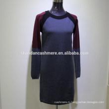 2016 мода новый дизайн зима трикотажные кашемировый свитер женщин кашемировый свитер от фабрики Индии