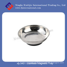 Stainless Bowl Magnetic Tools/Magnetic Trays with Rubber Cover