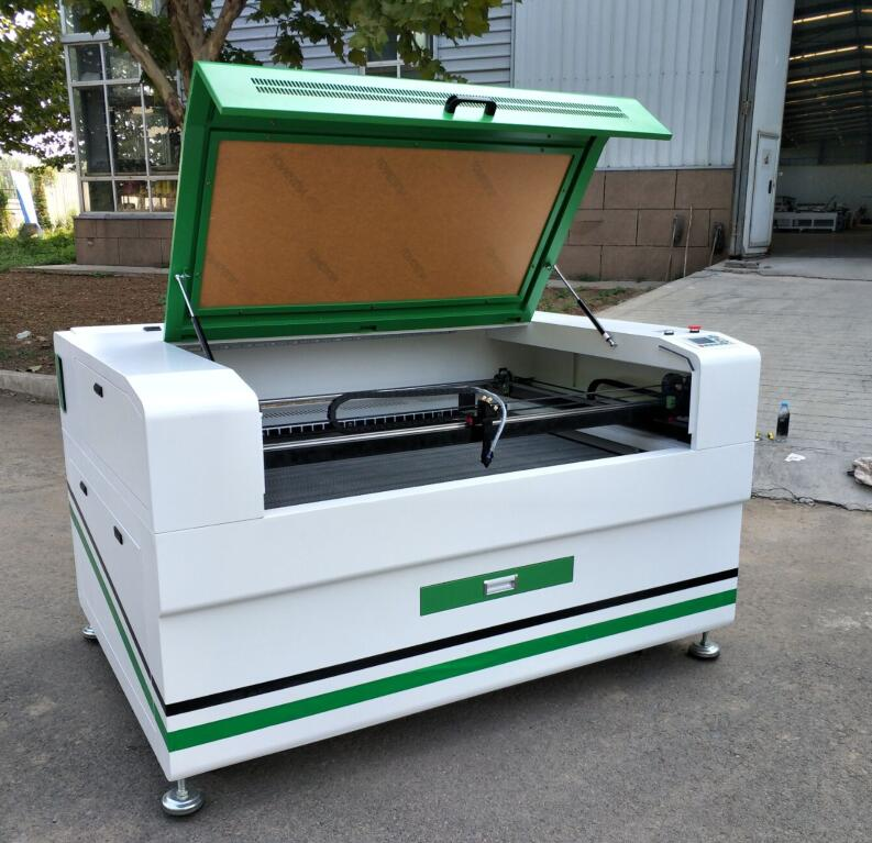 green color design laser